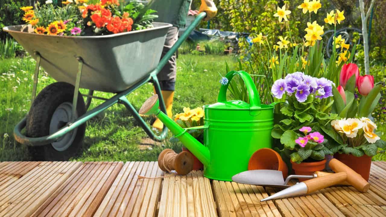 matériaux de jardin